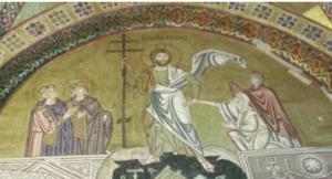 Μονή Οσίου Λουκά : Ανάσταση